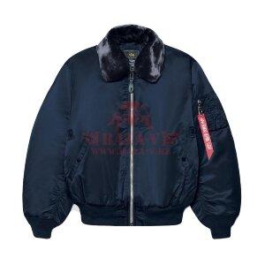 Летная куртка Alpha Industries B-15 Flight Jacket (Replica Blue)