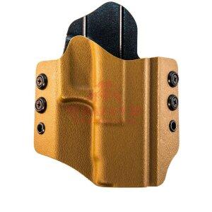 Кобура для Glock 17/22/31 скрытого ношения HSGI OWB Belt Holster (HOGL03 Coyote)
