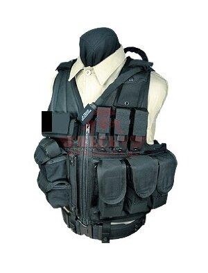 Тактический модульный жилет J-Tech® TAC-M7 (Black)