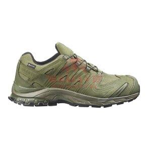 Тактические мембранные кроссовки для спецназа Salomon XA Forces GTX 2020 (Ranger Green)