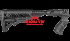 Приклад телескопический, складной FAB-Defense AGRF 870 FK SB с компенсатором отдачи для Remington 870
