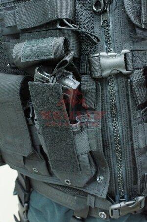 Тактический разгрузочный жилет J-Tech® TAC-M7 MOLLE (Black)