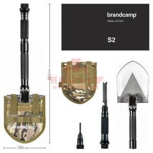 Многофункциональная лопата Brandcamp S2 (Small Edition)