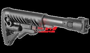 Приклад телескопический, складной FAB-Defense M4-VZP для VZ.58 (полимерный)