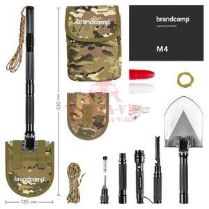 Многофункциональная лопата Brandcamp M4 (Middle Edition)