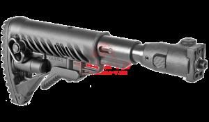 Приклад телескопический, складной FAB-Defense M4-VZPSB с компенсатором отдачи для VZ.58