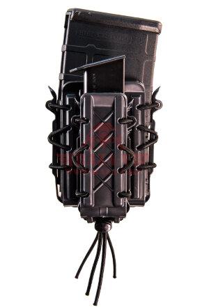 Подсумок под 2 магазина HSGI Polymer Double Decker® TACO® (16DD00), полимерный (Black)