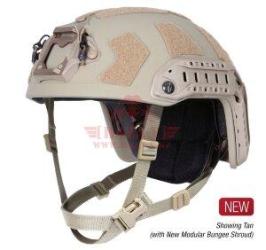 Баллистический шлем OPS-CORE FAST SF (Special Forces) Super High Cut Helmet System (TAN)