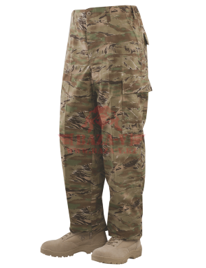 Брюки классической полевой формы TRU-SPEC Classic BDU Pants (CAMO) 50/50 Cordura® NYCO Ripstop (All Terrain Tiger Stripe)
