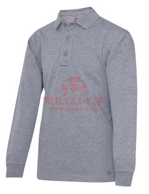 Мужское Поло с длинным рукавом TRU-SPEC Men's 24-7 SERIES® Original Polo (Heather Grey)