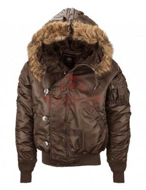Куртка-бомбер Alpha Industries N-2B (Brown)
