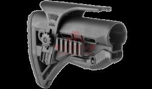 Приклад FAB-Defense GL-SHOCK PCP с компенсатором отдачи для M4/M16/АК/САЙГА