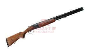 Гладкоствольное ружье бокфлинт Baikal МР-27М-1С 12х76, 2 ствола 675 и 725мм (орех) (MP28012)