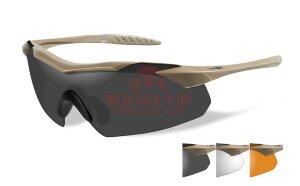 Баллистические очки WILEY X VAPOR со сменными линзами (3512)