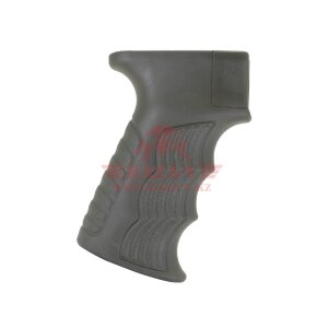 Рукоять прорезиненная для АК47/74 DLG Tactical Soft Grip (DLG098) (Olive)
