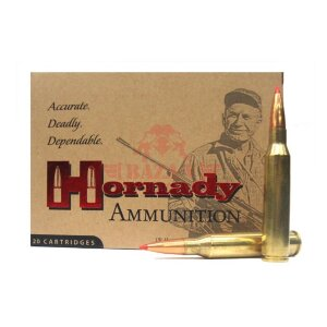 Патрон нарезной охотничий Hornady Match .338 Lapua Magnum пуля A-MAX OBS, 285gr / 18.46г (82301)