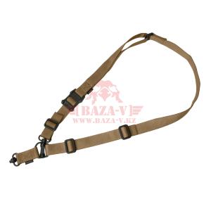 Оружейный одноточечный, двухточечный ремень 32мм, Magpul MS4 Dual QD Sling GEN2 MAG518 (Coyote)