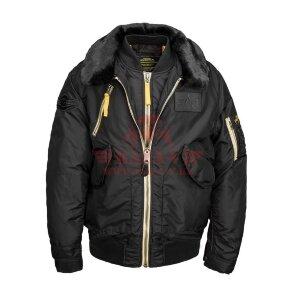 Летная куртка Alpha Industries B-15 AIR FRAME FLIGHT (Black)