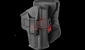 Кобура для Glock 9mm поворотная Fab-Defense G-9RS SCORPUS 2 поколение