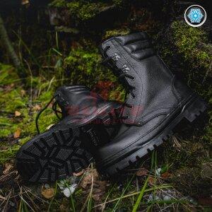 Зимние берцы Garsing 700 Ranger (нат.кожа, иск.мех) (Black)