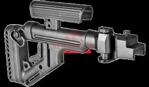 Приклад складной FAB-Defense UAS-AK с регулируемым подщечником для АК-47/74 (металлическая версия)