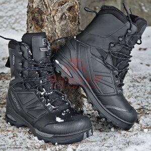 Зимние мембранные ботинки Salomon Toundra Forces CSWP (Black)