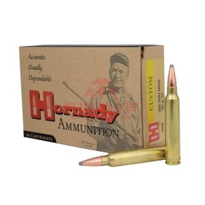 Патрон Hornady Custom .300 Win Mag SP, 180gr / 11.66г (8200)