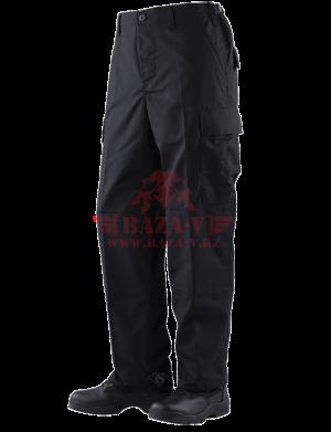 Брюки классической полевой формы TRU-SPEC Classic BDU Pants (Однотонные) 100% Cotton Ripstop (Black)