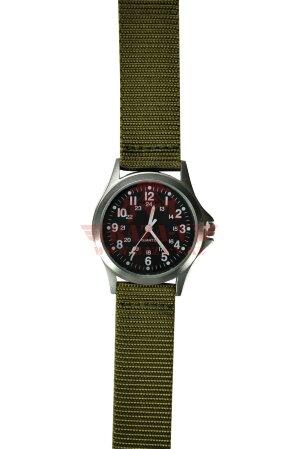Часы в корпусе из нержавеющей стали TRU-SPEC Squad Leader Watch (Olive)