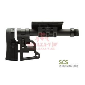 Приклад MDT SCS Skeleton Carbine Stock (Black)