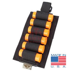 Открытый патронташ 12 калибра Condor US1023: Tactical Shotgun Reload Platform (Black)