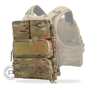 Панель с подсумками для JPC 2.0 Crye Precision Pouch Zip-On Panel 2.0 (MultiCam)