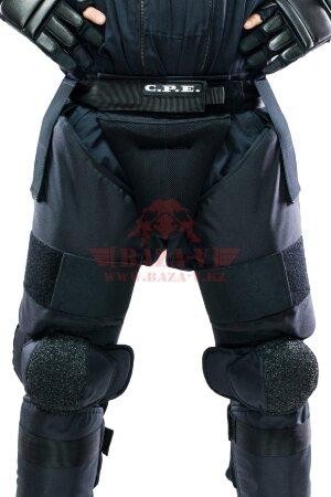 Защита бедер с наколенниками C.P.E.® Thigh Guard 08 (Класс защиты NIJ III-A)