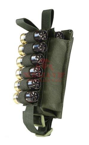 Подсумок-патронташ 12-20 калибра 12 патронов WARTECH MP-115 (Olive drab)