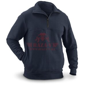 Огнеупорная кофта TRU-SPEC Cordura Nylon-Cotton Fleece Fire-Resistant Job Shirt (Navy)