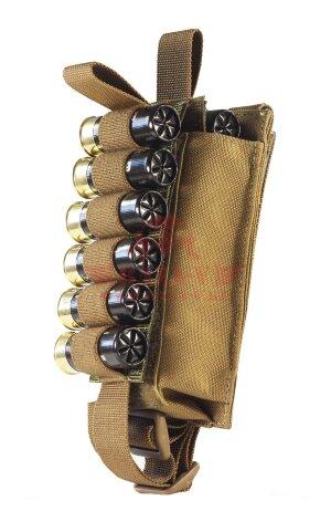 Подсумок-патронташ 12-20 калибра на 12 патронов WARTECH MP-115 (Coyote)