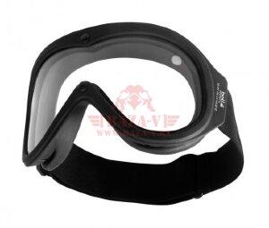 Тактические огнестойкие очки Bolle CHRONOSOFT (Clear Lens & Black Frame)