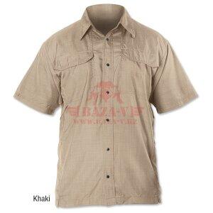 Кэмпинг рубашка с коротким рукавом TRU-SPEC 24-7 Series (Charcoal)